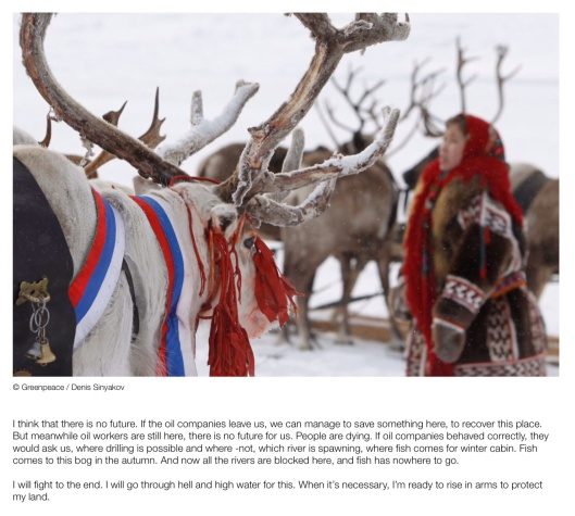 Greenpeace Life after Oil Yamal