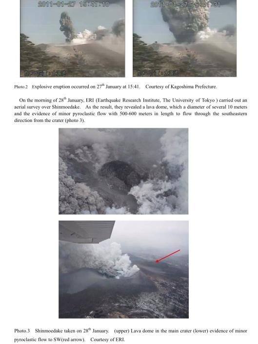 Source: Japan Meteorological Agency website, Kirishima