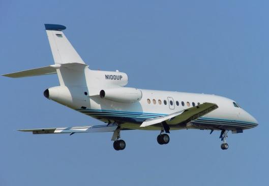 Private Dassault Falcon 900B Public Domain