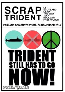 Trident Still has to go now!  Scrap Trident