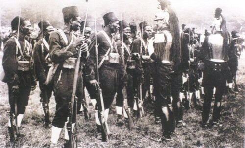 Tirailleurs Senegalais in World War I France