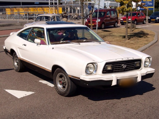 1974-78 Ford Mustang, Public Domain via wikipedia