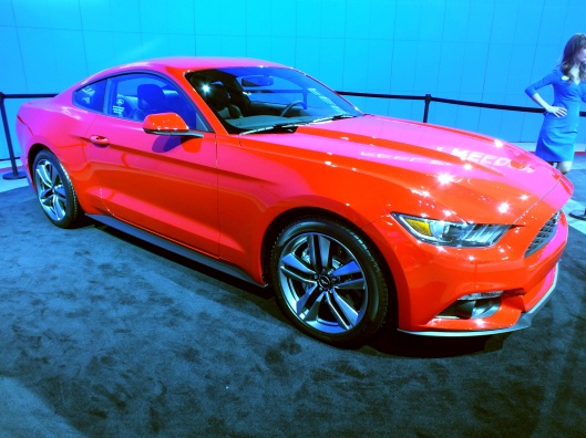 The 2015 Ford Mustang, 29 January 2014, 20:39:24, A. Bailey, CC-BY-SA 3.0