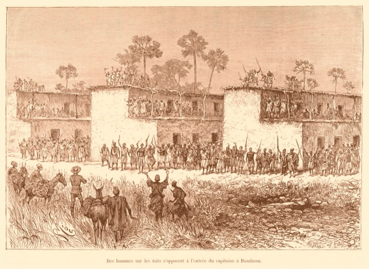Resistance to the French invasion at Bobo-Dioulasso Upper Volta-Burkina in 1892