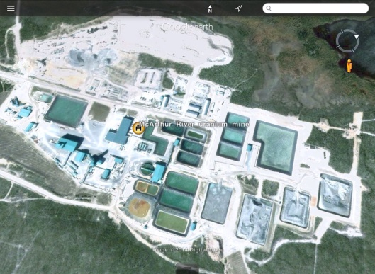 Cameco Areva U Mine exported to google from wikipedia