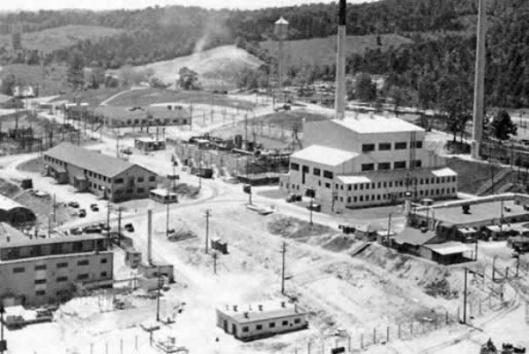 The X-10 complex at Oak Ridge.