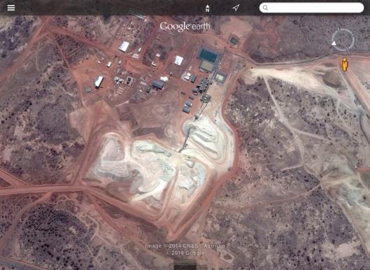 Bissa Gold Mine, Nordgold BF, heap-leach processing plant