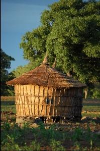 Village Granary near Fada Burkina Faso, CC-2.0, by Tree Aid (2006):  https://www.flickr.com/photos/53871588@N05/5092313365/