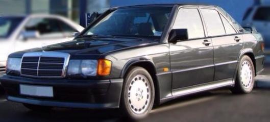 Mercedes ca 1990 public domain