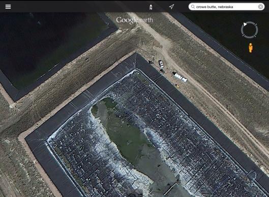 Cameco Crow Butte Evaporation Pond