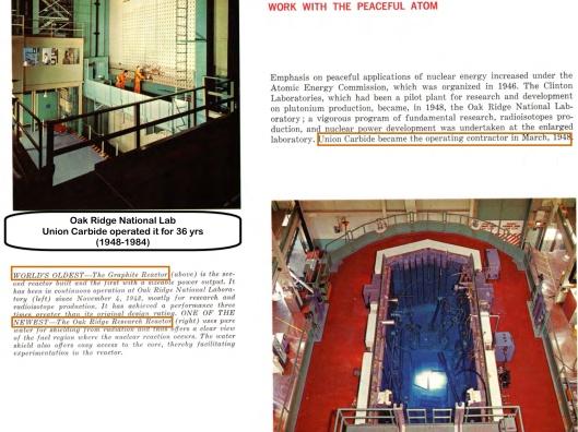 Oak Ridge reactors history text