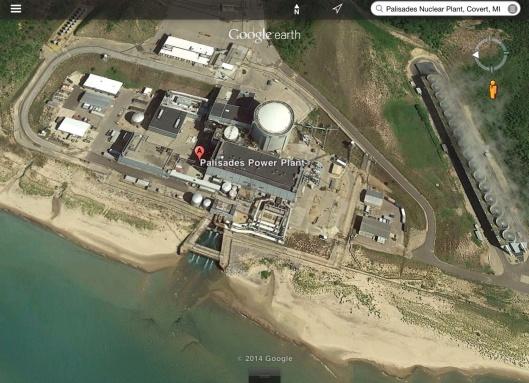 Palisades Nuclear PS polluting Lake Michigan