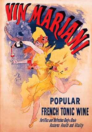 French Tonic Wine Poster