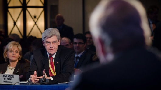 Mississippi Governor Phil Bryant, USDA Photo by Lance Cheung