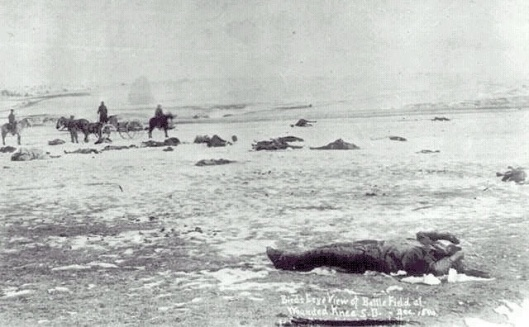 Wounded Knee dead