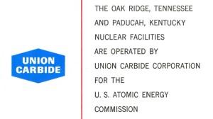 Union Carbide operator US Atomic Energy Facilities