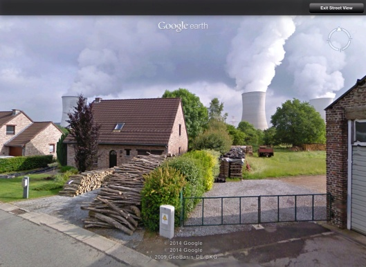 Tihange Nuclear Power Station Belgium