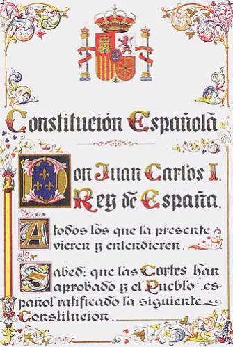 Public Domain via wikipedia Spanish_Constitution_of_1978