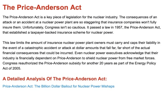 Price Anderson Public Citizen CC NC ND