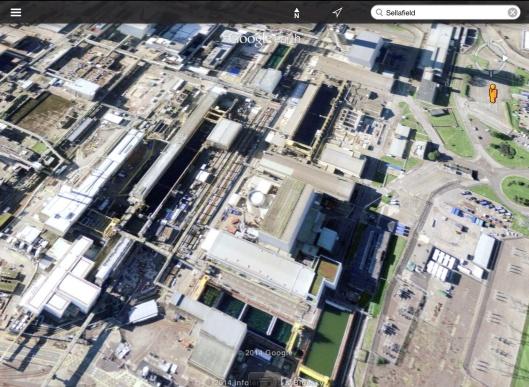 Sellafield Fuel pools zoom