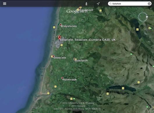 Sellafield Seascale