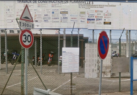 Flamanville contractors