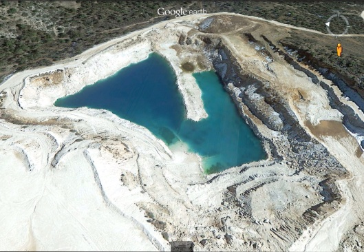 Arizona Copper mine
