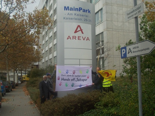AREVA protest Germany 21 Oct. 2014 via Dianuke.org CC
