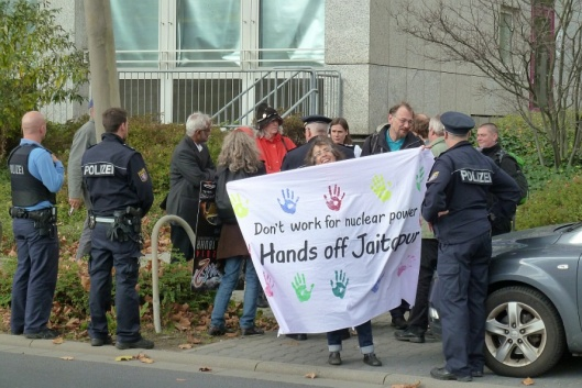 Areva calls police Germany 21 Oct. 2014 Dianuke.org CC