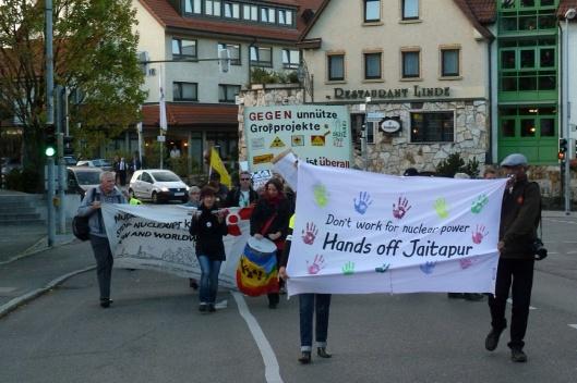 Esslingen BPR Areva Protest Oct. 2014 via Dianuke.org CC NC