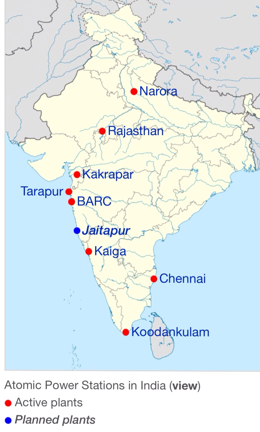 India as Dumping Ground for Dangerous Discredited Nuclear – Map Uk Nuclear Power Stations