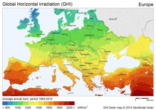 CC-BY-SA-3.0, SolarGIS © 2015 GeoModel Solar