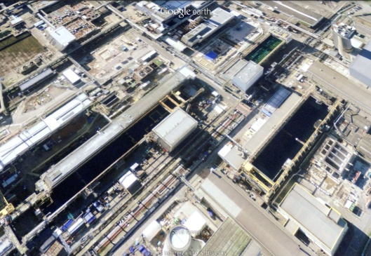 Sellafield open fuel ponds