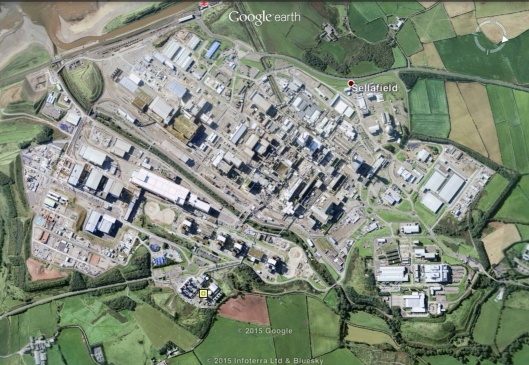 Sellafield overview map