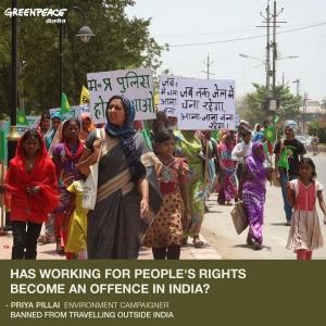 Priya Pillai Greenpeace.org