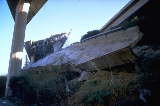 Northridge earthquake Highway Collapse FEMA