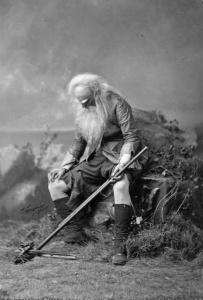 Actor Joseph Jefferson as Rip van Winkle, photographed by Napoleon Sarony in 1869