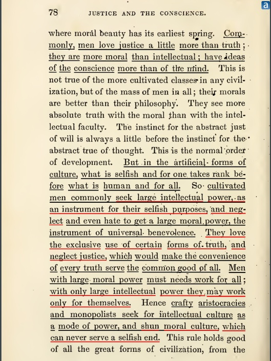 """OF JUSTICE AND THE CONSCIENCE"", 1853, p. 78"
