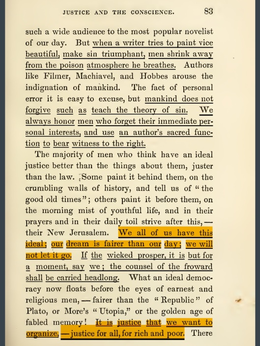 """OF JUSTICE AND THE CONSCIENCE"", p. 83"