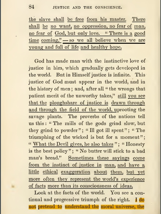 """OF JUSTICE AND THE CONSCIENCE"", p. 84"