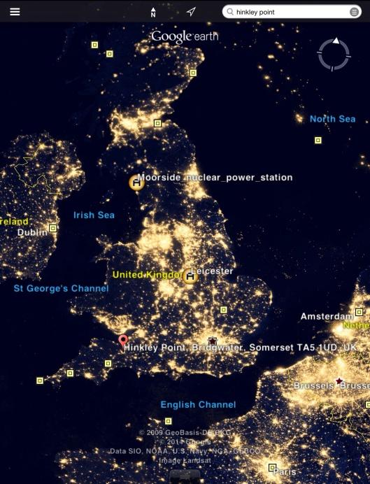 Hinkley and Moorside vs lights