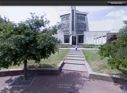 Palais de Justice Creteil Guillotine doors