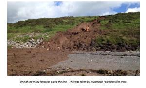 Landslip Near Sellafield