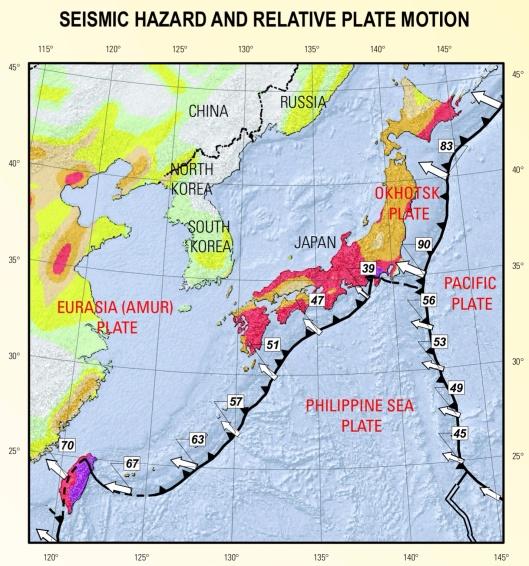 Japan plates, USGS, Rhea et. al., 2010