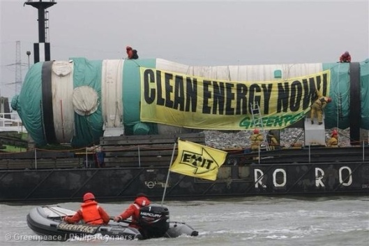 Clean Energy Now, Greenpeace, nuclear component