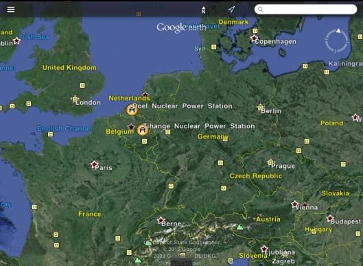Doel Tihange Nuclear Reactors in Europe
