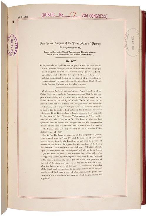 TVA Act 1933