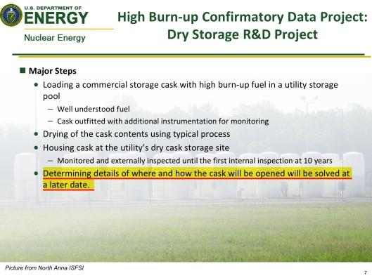 DOE-Boyle, Aug. 2014, Dry Cask Summary, p. 7