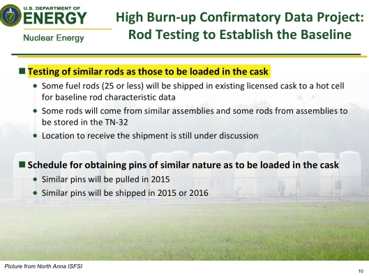 DOE-Boyle, Aug. 2014, Dry Cask Summary, p. 10
