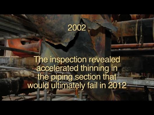 CSB vid Chevron Explosion, re 2002 inspect
